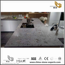 Beautiful New Luxury Quartz Kitchen Countertops with eco design(YQW-QC071602)