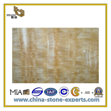 Hot Sell Polished Honey Onyx Marble Slabs (YQC)