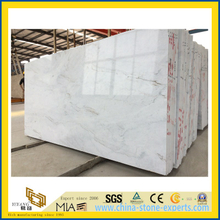 China Polished Castro White Marble Slab for Floor & Wall Tiles / Kitchen Countertops / Barthroom Vanity tops (YQW)