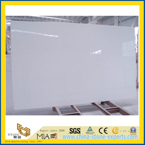 Milk White Artificial Stone Marble for Flooring/Wall Tile, Countertop