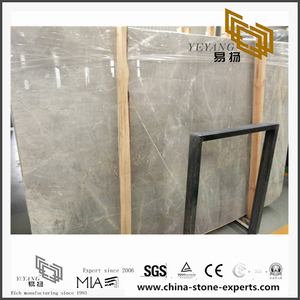 Grade A Quality Las Grey Marble for Kitchen,Bathroom Background (YQN-101304)