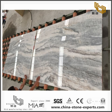 New Dark Vemont Gray Stone Marble for Wall Backgrounds & Floor Tiles (YQW-MS090709)
