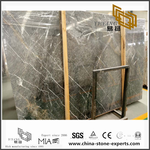 Shangri-la Grey Marble for sale (YQN-101401)