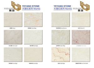 Interoir Walling & Flooring Marble Materials -YEYANG Stone Factory