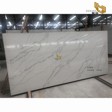 Polishing white quartz countertops for the kitchen and bathroom - E1004