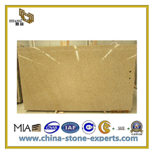 Natural Polished Yellow Granite Slab for Countertop & Vanity Top(YQC)