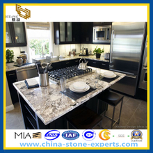 Beautiful Polished White Marble Kitchen Countertops (YQZ-MC)