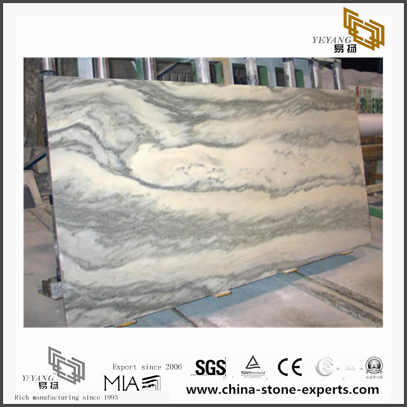 Vemont Gray marble used in the kitchen, bathroom, living room wall/floor(YQN-091201)