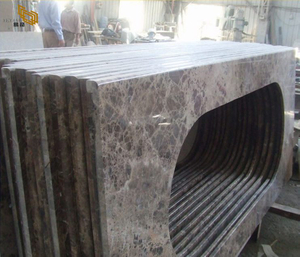 dark emperador marble countertop project