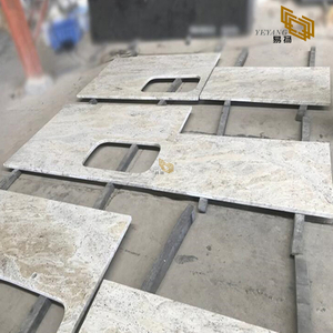 Supply River White Granite Top Kitchen Countertop Wholesalers
