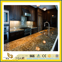 Natural Stone Polished Tiger Skin Granite Countertop for Kitchen/Bathroom (YQC)