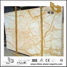 Beautiful Golden Spider Marble Tiles for Floor design(YQN-100705)