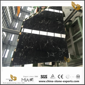 Buy Discount New Black Ice Flower Marble for Home Design(YQW-MSB102103)