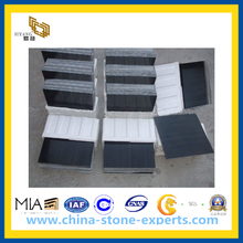 Polished Black Marble Tile for Wall and Floor(YQC)