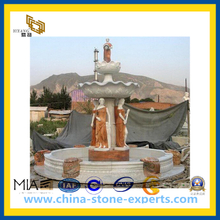 Granite & Marble Stone Water Fountain for Landscape/Garden Decoration(YQG-CS1023)