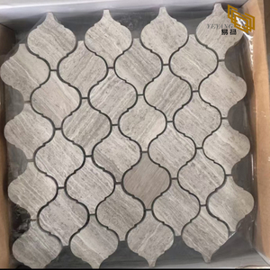Factory Gray Marble Mosaic and Mosaic Tiles for Wall Decoration