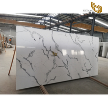 Quartz stone for vanity kitchen countertop with high polish bathroom tile wholesale 303