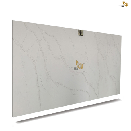 Factory Produce Calacatta Gold Quartz White Engineered Quartz Countertops Quotes