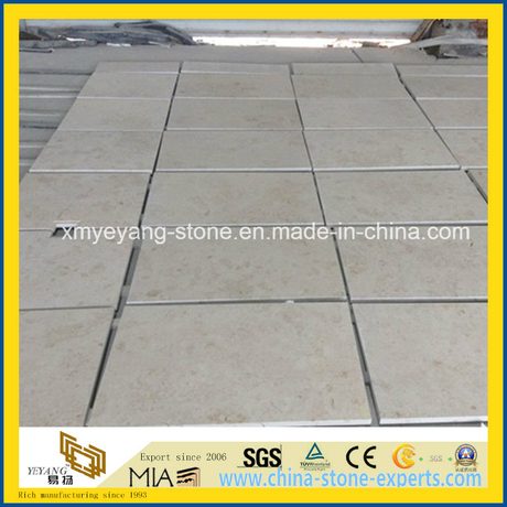 Jura Beige Limestone Tile for Flooring or Wall Decoration