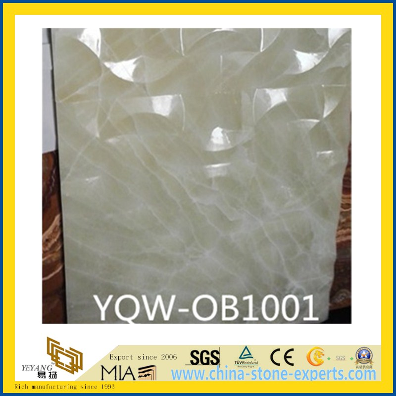 White/Green/Red/Black/Yellow & Honey Onyx Stone Tile for Wall, Backsplash, Background