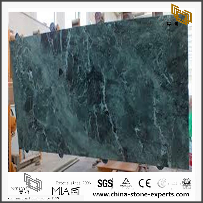 Custom Verde Alpi Marble for Wall Backgrounds & Floor Tiles (YQN-092609)