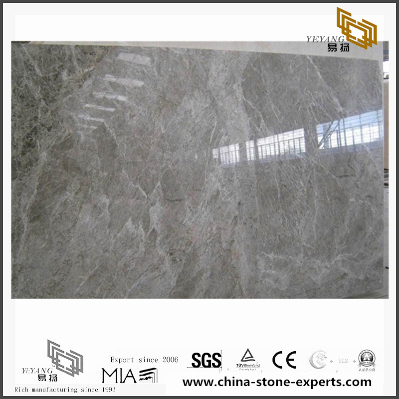 Beautiful Tundra Grey Marble Tiles for Floor design(YQN-093006)