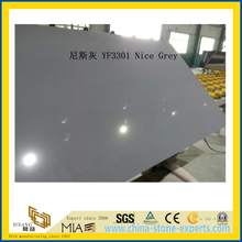 Nice Grey Quartz Stone for Indoor Decoration