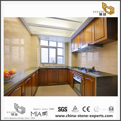 Harshin Beige Marble used for living room/kitchen floor tile(YQN-092105)