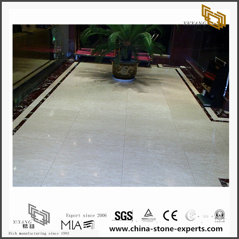 Custom Oriental White Marble for Wall Backgrounds & Floor Tiles (YQN-092607)