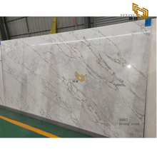 Polishing grey quartz slabs tiles natural stone online whholesale - A5017