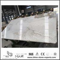 Luxury New Arabescato Venato White Marble Slabs for Bathroom Decoration (YQW-MSA06051901)
