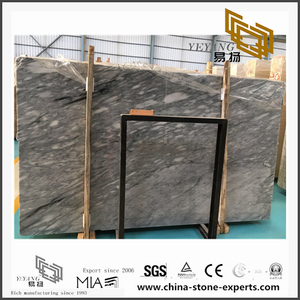 Beautiful High Polished Vemont Grey Marble for Bathroom Background Design & Floor Tiles (YQN-110301)
