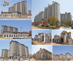 Exterior Cladding 45000m2 -YEYANG Stone Factory