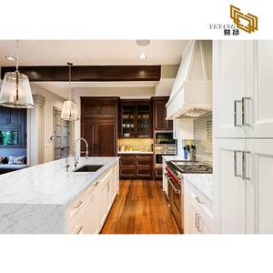 quartz stone vanity top white quartz tiles kitchen wall backsplash D2016