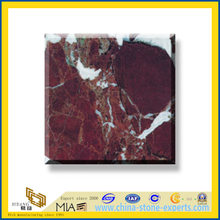 Polished Natural Stone Rosso Lavento Marble Slabs for Wall/Flooring (YQC)