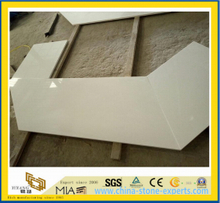 White Quartz Countertop for Kitchen and Bathroom-Yya