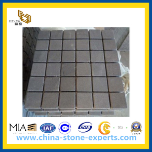 Grey Stone Basalt Mosaic Tile for Outdoor Paving(YQG-PV1021)