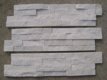 White Cultural Slate/Quartzite Tile for Wall