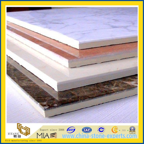 Composite Marble & Ceramic Tile for Wall and Floor (YYL)