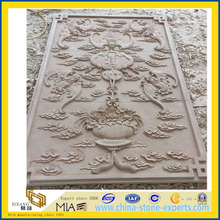 Natural Sandstone Carving Sculptures for Garden / Home Decoration (YYL)