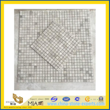 Artic Grey Marble Mosaic for Indoor Decoration