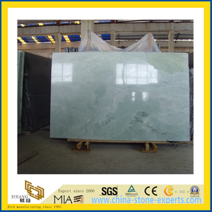 Polished Stone Ming Green Marble Slabs for Countertop/Vanitytop (YQC)