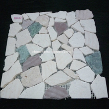 Culture Stone Colorful Mat Mosaic Tile (YQZ-M1001)