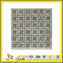 Slate Meshed Mosaic Pattern for Floor Tile (YQA-S1063)