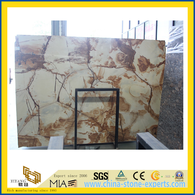 Polished Roma Fantasy Marble Slab for Wall/Flooring Decoration