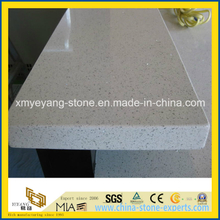 White Sparkle Quartz Stone Countertop for Kitchen or Bathroom