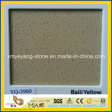 Baili Yellow Caesarstone Quartz for Kitchen Countertop Design