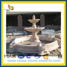 Outdoor Carved Marble Stone Fountain for Garden(YQG-CS1035)