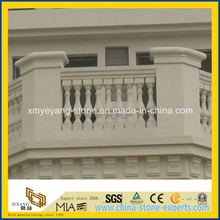 Natural Beige Sandstone Balustrade for Villa Project