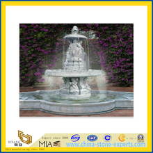 Marble Carved Water Garden Fountain for Outdoor(YQG-LS1040)